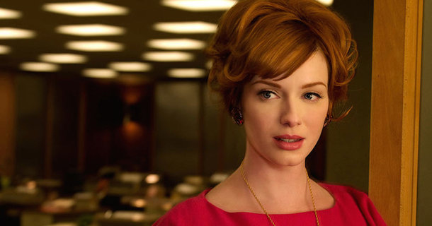 "Christina Hendricks Uses Her ""Mad Men"" Character To Expose The Discrimination Of Women In The Workplace"